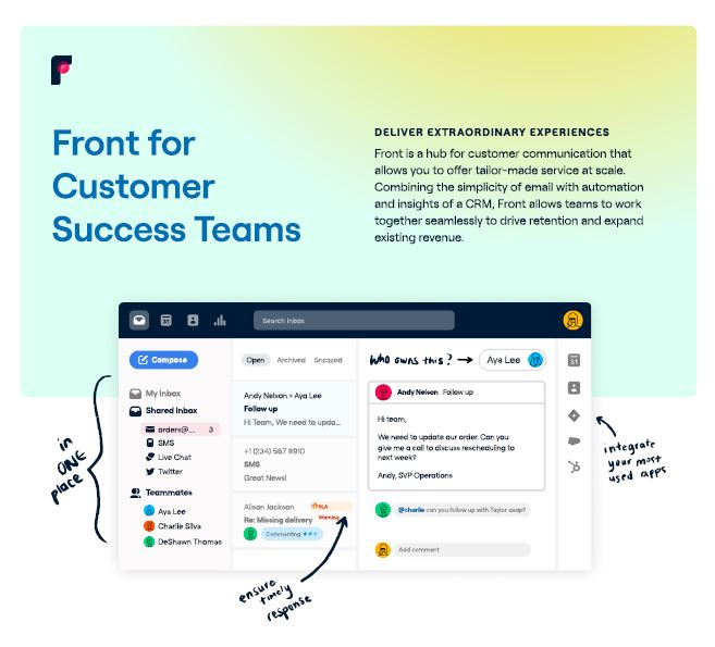 front-for-customer-success-teams