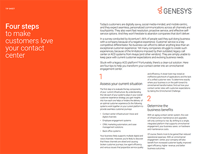 four-steps-to-make-customers-love-your-contact-center