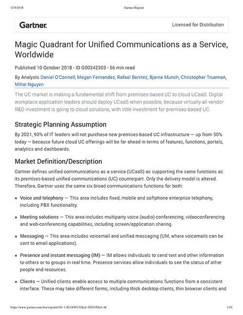 gartner:-magic-quadrant-for-unified-communications-as-a-service-worldwide