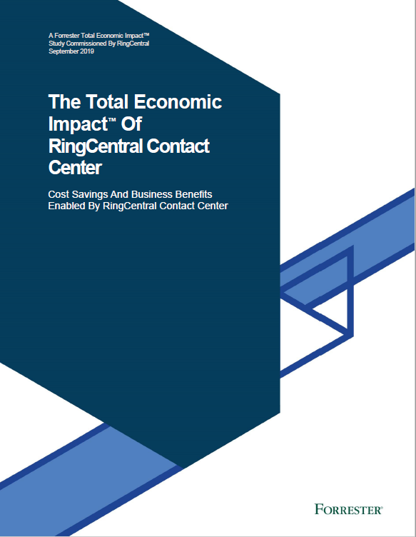 a-forrester-study:-the-total-economic-impact-of-ringcentral-contact-center