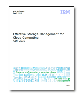 effective-storage-management-for-cloud-computing